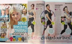 CC featured in Woman Magazine