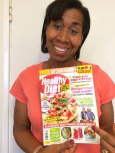 CC displaying Healthy Diet Magazine